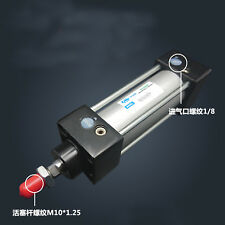 SC32-1000 Bore: 32mm Stroke: 1000mm Single Thread Rod Dual Action Air Cylinder