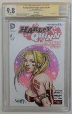 HARLEY QUINN Invades Comic-Con # 1 CGC SS 9.8 Signed/sketched Jose Varese