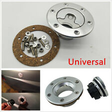Billet Aluminum Aircraft Style Fuel Cell Gas Cap w/ 6 Hole Anodized Flush Mount