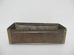 Victoeian Copper Trough Tub Planter Plant Pot Antique Old Antique Arts & Crafts
