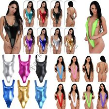 Women Monokini Swimsuit Bikini Thong Leotard Bodysuit G-string Lingerie Swimwear