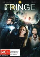 FRINGE (COMPLETE SEASON 5 - DVD SET SEALED + FREE POST)