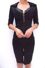 Vestiti da donna maniche a 3/4 scollo a v misto cotone