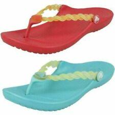 Scarpe da bambina ciabatta infradito Crocs