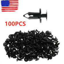 100pcs Push Type Bumper Fender Retainer Clip For Nissan Infinit 21030249 6503598
