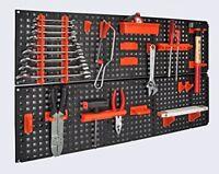 Panel para herramientas de pared Kit de fijación 80x48 cm. ampliable