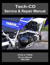 Yamaha motorcycle manuals literature ebay yamaha xt225 ttr225 service repair manual serow 225 1992 2004 fandeluxe Choice Image