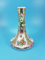 "Chinese 5"" Bud Vase Handpainted Porcelain VINTAGE"