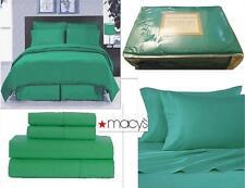 New California King 4 Pz Sheet Set Soft Microfiber Green New in Package, Nip New