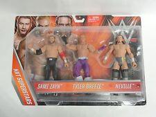 WWE NXT Superstars Sami Zayn, Tyler Breeze & Neville Mattel New