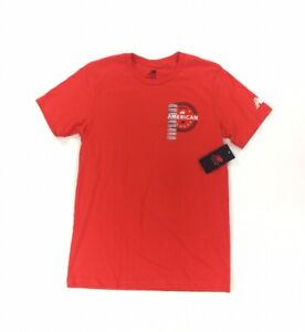 NEW New Balance Nationals 2020 All American Short Sleeve T Shirt Red Womens Sz M