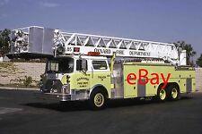 Fire Engine Photo Oxnard Rare Mack CF LTI Tower Aerial Truck Apparatus Madderom