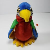 Jabber Parrot Colorful Ty Beanie Baby Retired Rare