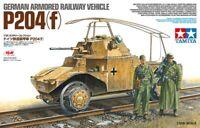 Tamiya German P204(F) Armored Railway Vehicle 1:35 scale model kit new 32413