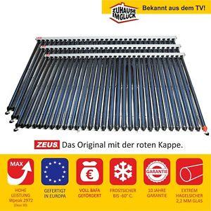 🔥 Solarkollektor Röhrenkollektor Solaranlage Komplett Sonnenkollektor Kollektor