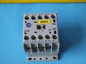 1 pcs Allen-Bradley   100-K09*01 Ser.A coil 24VDC  (AC1 690V 20A) Contactor