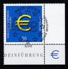 BRD 2002 gestempelt ESST Berlin Eckrand unten rechts MiNr. 2234