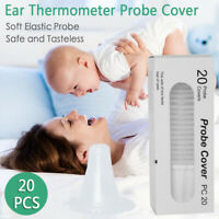 Ear Thermometer Replacement Lens Filters Probe Cover 20pcs Braun Thermoscan GYT