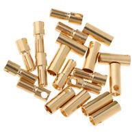 5.0/5.5mm Male Female Bullet Banana Connector Plug for RC Battery Motor ESC