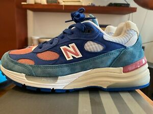 New Balance 992 Blue Made in USA - Brand New in Box - Women's Size 8.5 / Men's 7