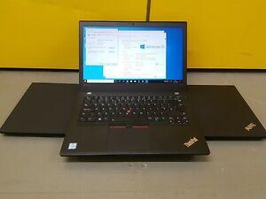 Lenovo thinkpad t470 i5-6300u 16gb ram 256gb SSD WIN10 pro FULL HD 1920 X 1080