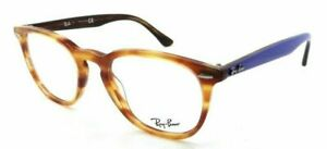 NEW AUTHENTIC RAY BAN RB 7151F 5799 Tortoise-Light Blue Eyeglasses 52mm 19 145