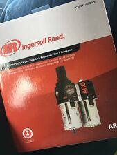 IR Combo Air System Acc 1/2in NPT Air Line Piggyback Regulator/Filter+Lubricant