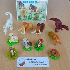 "Top Kinder Surprise Set - Ice Age 3 - Mint Condition 1.3"" miniature figurines"