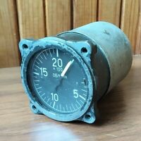 Tachometer TM u2  1973s GOST Military Panel Cockpit Soviet made in USSR
