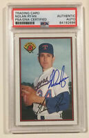 1989 Bowman NOLAN RYAN Signed Autographed Baseball Card PSA/DNA