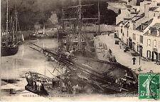 BELLE-ILE-EN-MER   LE BASSIN A FLOT   ECRITE 1909