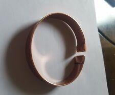 Mens Large Magnetic Copper plain  Bracelet   (arthritis health pain relief)