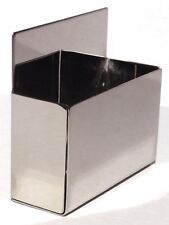 cigarette pack size storage holder stainless steel for Peterbilt Kenworth FL