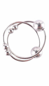 Non-piercing Silver Nipple Rings Sexy Body Jewelry Bull Rings