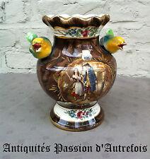 B20130797 - Gros vase en céramique H Bequet - Quaregnon Belgique - Très bon état