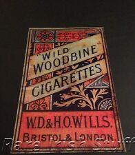 Wild Woodbine Cigarettes - WD & HO Wills - Old Irish Pub & Bar Tobacco Print