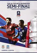 * 2012 FA CUP SEMI-FINAL - LIVERPOOL v EVERTON *
