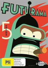 Futurama : Season 5 (DVD, 2011, 2-Disc Set)