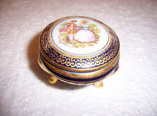 LIMOGES JEWELRY / RING BOX.  BELONGED TO MY GRANDMOTHER.