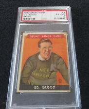 1933 Goudey Sport Kings #9 E.J. Blood PSA EX-MT 6