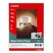 Canon Matte A4 Photo Paper - 50 Sheets