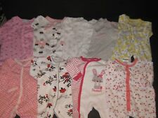Baby Girl 3 Months  Sleepers  Footies Sleepwear Clothes Lot All Snap Up