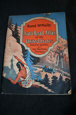 1927 Rand McNally Auto Road Atlas of the UNited States, Ontario, Quebec & Mariti