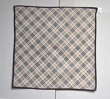 Burberry Mini Schal POCKET SQUARE Taschentuch Handtasche Krawatte Baumwolle Nova Check