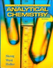 Fundamentals of Analytical Chemistry by Douglas A. Skoog (1995, Hardcover)