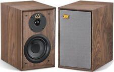 Wharfedale Denton Speakers - Pair Walnut Stereo Loudspeakers Anniversary Compact