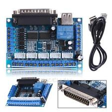 5 Axis USB CNC Card Controller Interface Board USBCNC Replaceable MACH3 DIY NEW