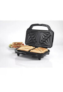 Deep Fill Sandwich Toaster 900W Panini Press Kitchen Health Grill Griddle SALTER
