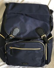"""Kenneth Cole Reaction Women's  15.6"""" Laptop Business & Laptop Backpack NAVY"""