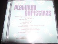 Platinum Christmas Various CD Ft Britney Spears NSYNC Whitney Houston S Club 7 –